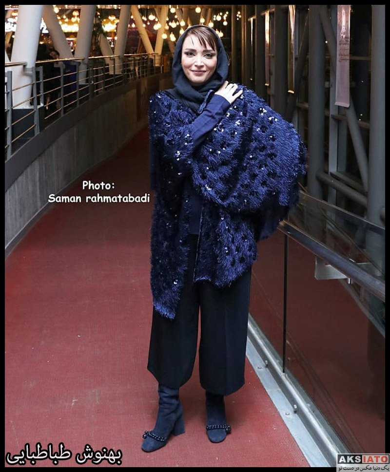 بازیگران بازیگران زن ایرانی  بهنوش طباطبایی در اکران مردمی فیلم رد خون (6 عکس)