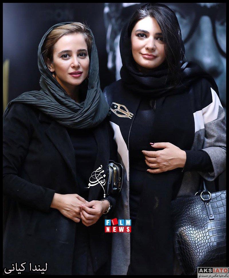 بازیگران بازیگران زن ایرانی  لیندا کیانی در مراسم رونمایی از آلبوم افسانه چشمهایت (3 عکس)