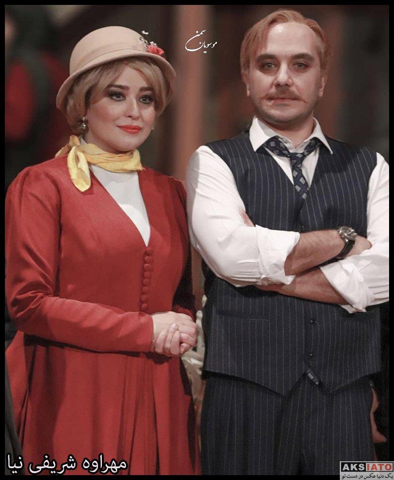 بازیگران بازیگران زن ایرانی  مهراوه شریفی نیا در نمایش موزیکال مری پاپینز (۶ عس)