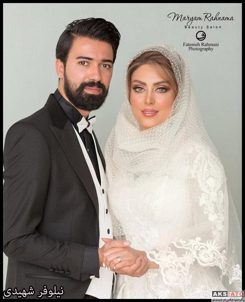 عکس آتلیه و استودیو  عکس های آتلیه مراسم عروسی نیلوفر شهیدی (4 عکس)