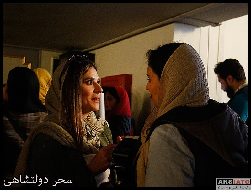 سحر دولتشاهی در مراسم رونمایی از آلبوم افسانه چشمهایت (۴ عکس) - عکسیاتو
