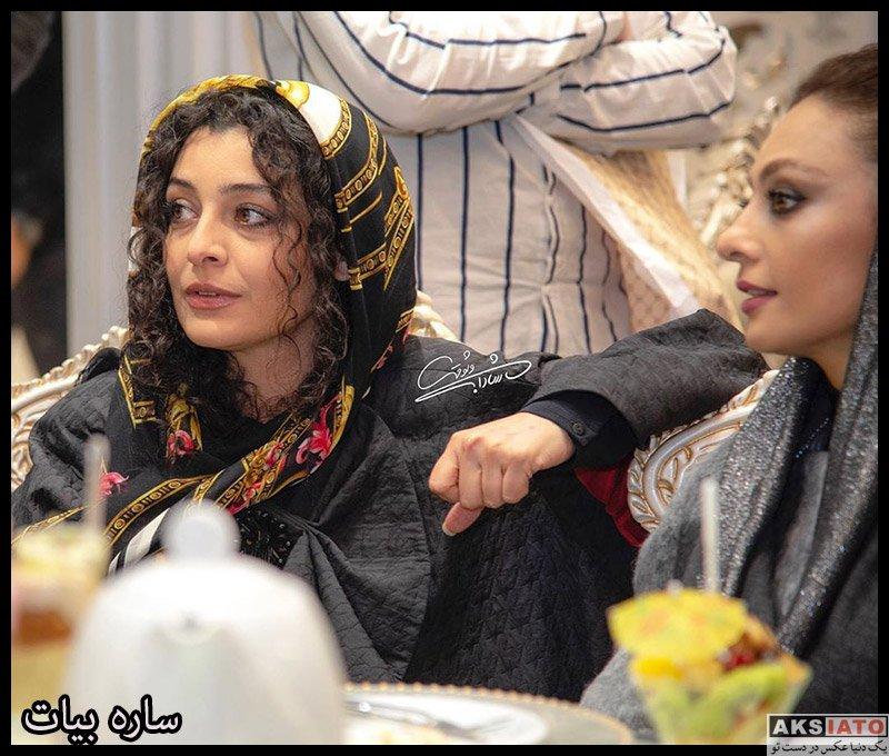 بازیگران بازیگران زن ایرانی  ساره بیات در آیین سپاس تهیه کنندگان سینما (۴ عکس)