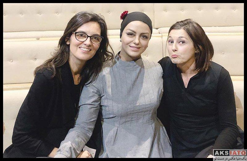 بازیگران بازیگران زن ایرانی  شبنم فرشادجو در شهر میلان ایتالیا (4 عکس)