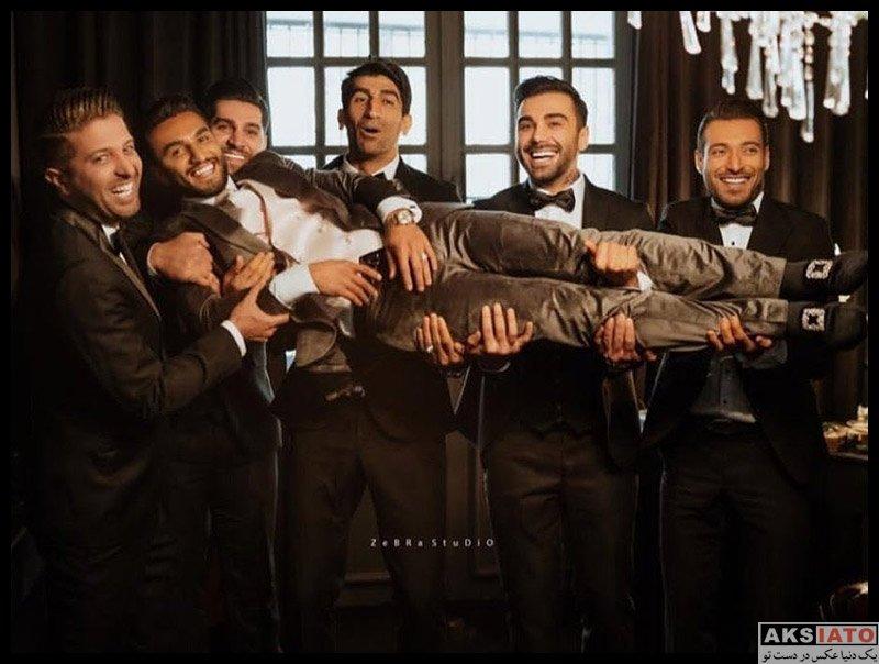 ورزشکاران ورزشکاران مرد  جشن عروسی سیامک نعمتی بازیکن پرسپولیس (8 عکس)