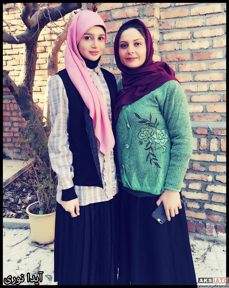 بازیگران بازیگران زن ایرانی  آیدا نوری بازیگر نقش مینا در سریال حکایت های کمال (8 عکس)
