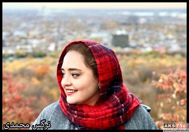 بازیگران بازیگران زن ایرانی  نرگس محمدی در شهرهای مختلف کانادا (6 عکس)