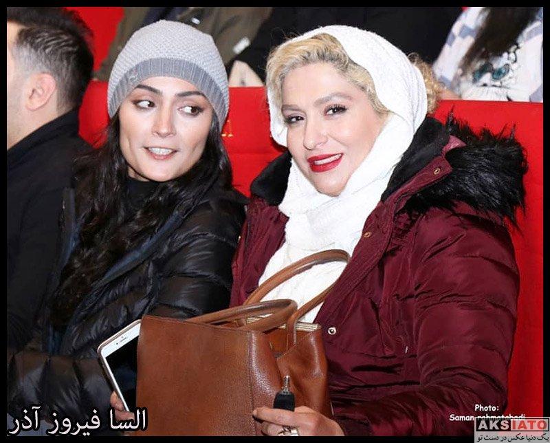 بازیگران بازیگران زن ایرانی  السا فیروز آذر در اکران خصوصی فیلم خداحافظ دختر شیرازی (۴ عکس)