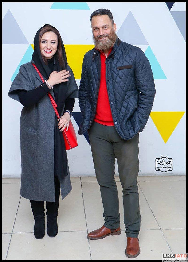 بازیگران بازیگران زن ایرانی  گلاره عباسی در اکران خصوصی فیلم خداحافظ دختر شیرازی (۶ عکس)