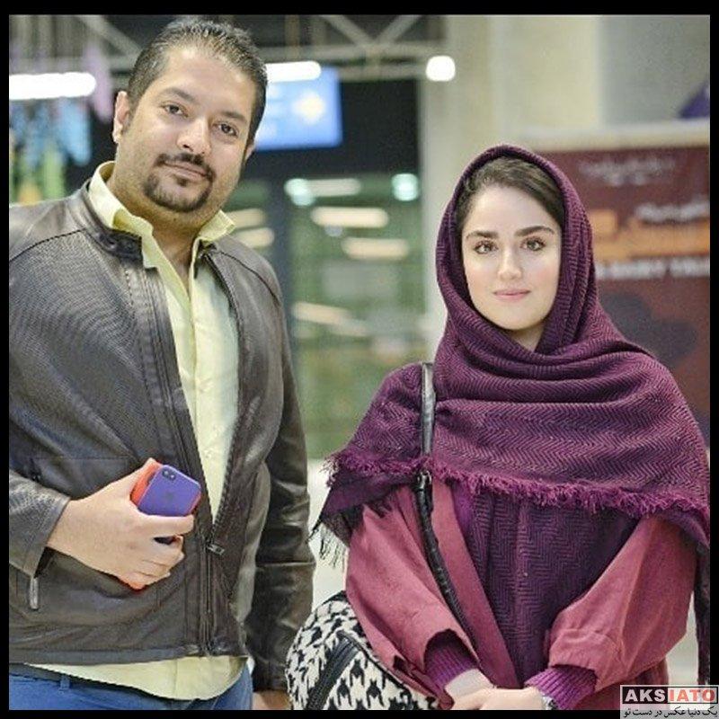 بازیگران بازیگران زن ایرانی  هانیه غلامی در اکران خصوصی فیلم خداحافظ دختر شیرازی (3 عکس)