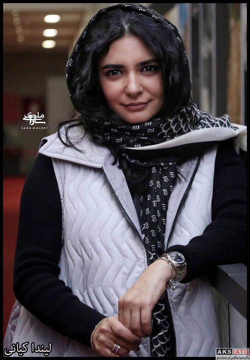 بازیگران بازیگران زن ایرانی  عکس های لیندا کیانی در اکران مردمی فیلم خداحافظ دختر شیرازی
