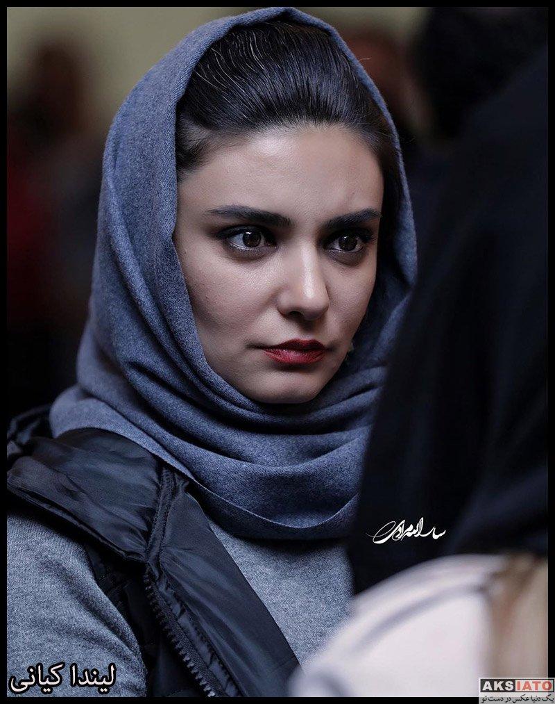 بازیگران بازیگران زن ایرانی  لیندا کیانی در اکران خصوصی فیلم مطرب (6 عکس)