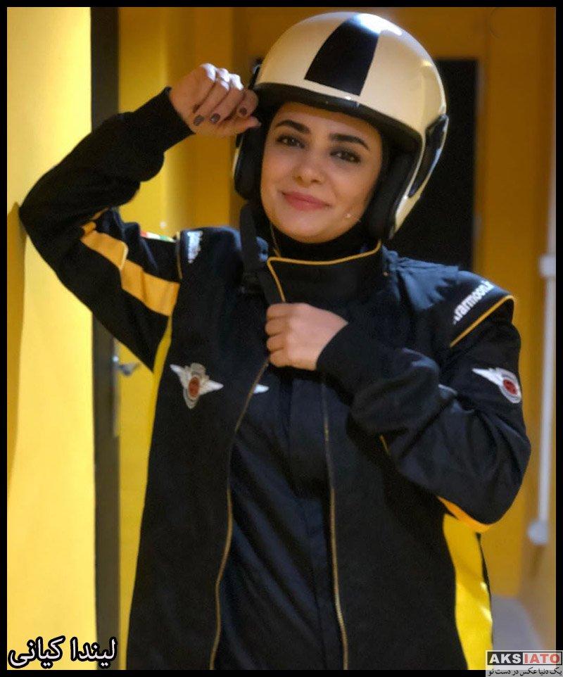 بازیگران بازیگران زن ایرانی  لیندا کیانی در برنامه دست فرمون (4 عکس)