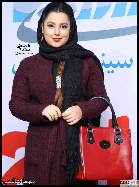 بازیگران بازیگران زن ایرانی  مهسا هاشمی در اکران خصوصی فیلم لیلاج (4 عکس)