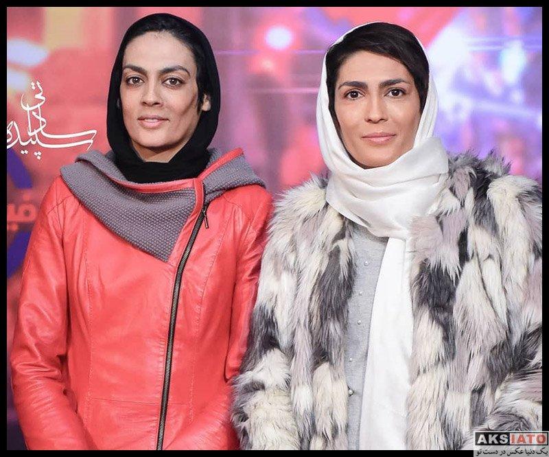 ورزشکاران ورزشکاران زن  خواهران منصوریان در اکران خصوصی فیلم مطرب (3 عکس)
