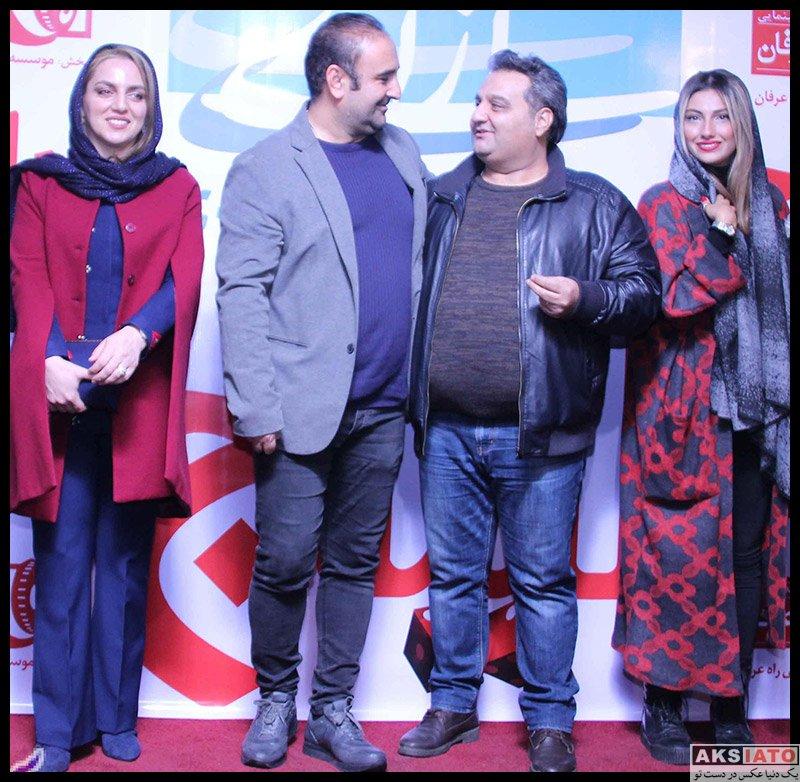 بازیگران بازیگران زن ایرانی  نسرین بابایی در اکران خصوصی فیلم لیلاج (۳ عکس)