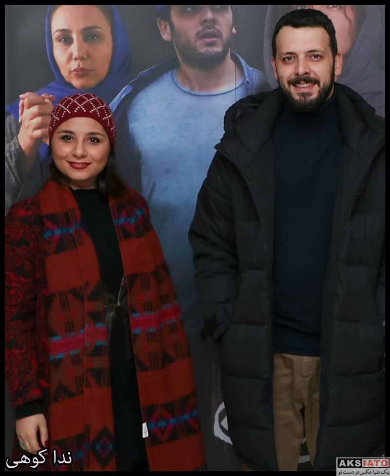 بازیگران بازیگران زن ایرانی  ندا کوهی در اکران ویژه فیلم بی صدا حلزون (3 عکس)