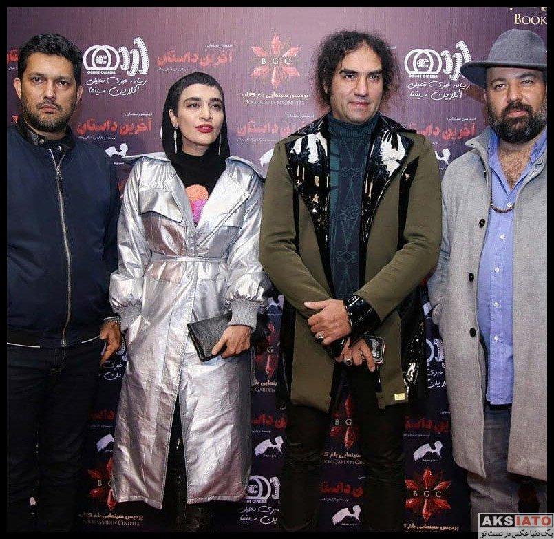 خوانندگان  رضا یزدانی در اکران خصوصی انیمیشن آخرین داستان (2 عکس)