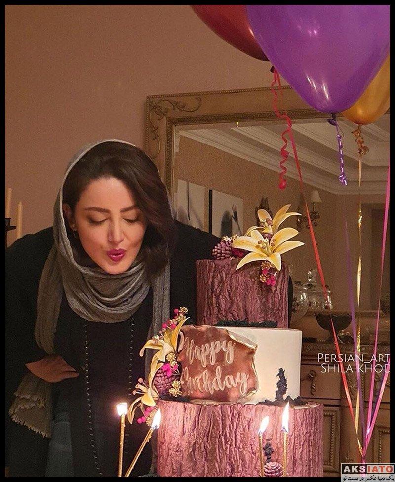 بازیگران بازیگران زن ایرانی  شیلا خداداد در جشن تولد 42 سالگی پرستو صالحی (3 عکس)