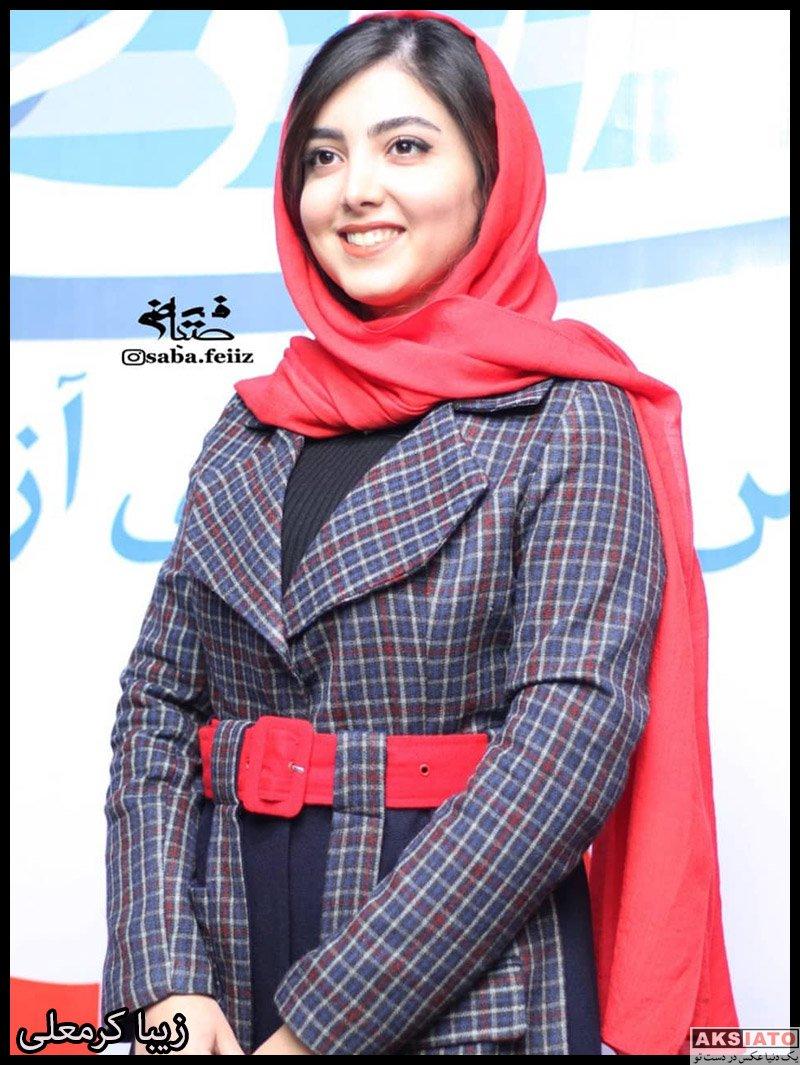 بازیگران بازیگران زن ایرانی  زیبا کرمعلی در اکران خصوصی فیلم لیلاج (۶ عکس)