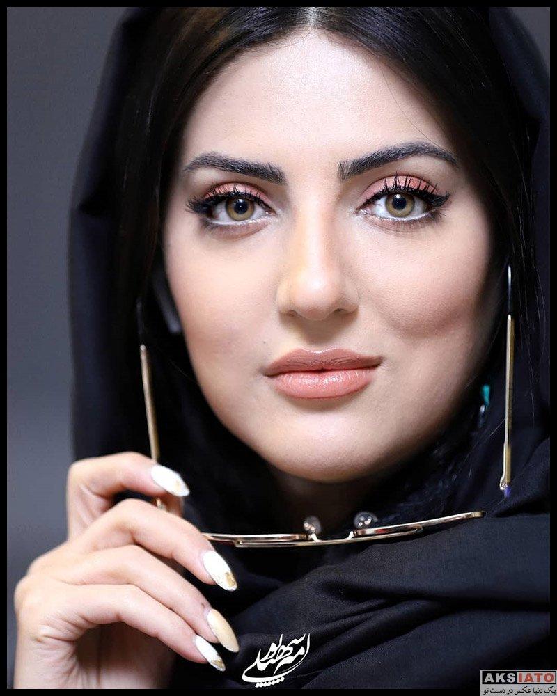 بازیگران بازیگران زن ایرانی  هلیا امامی در اکران خصوصی فیلم اولین امضا برای رعنا (4 عکس)