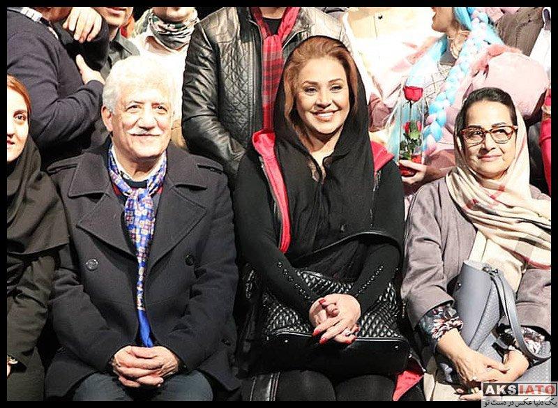 بازیگران بازیگران زن ایرانی  نسرین مقانلو در اجرای نمایش دراکولای سفید (3 عکس)