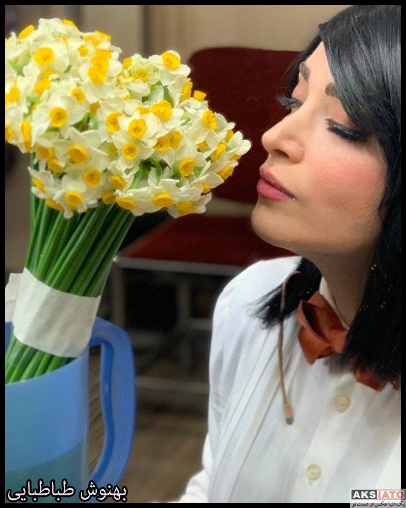 بازیگران بازیگران زن ایرانی  عکس های بهنوش طباطبایی در دی ماه 98 (12 تصویر)