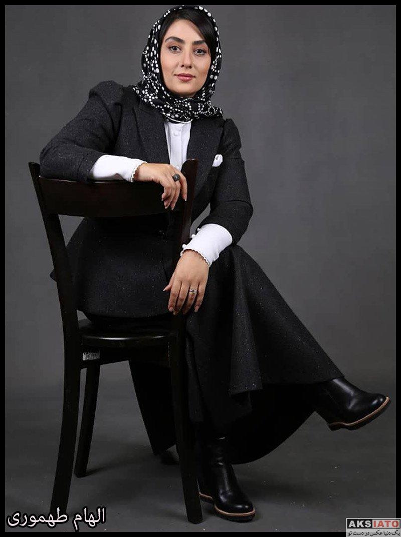 عکس آتلیه و استودیو  عکس های آتلیه الهام طهموری بازیگر نقش وارش