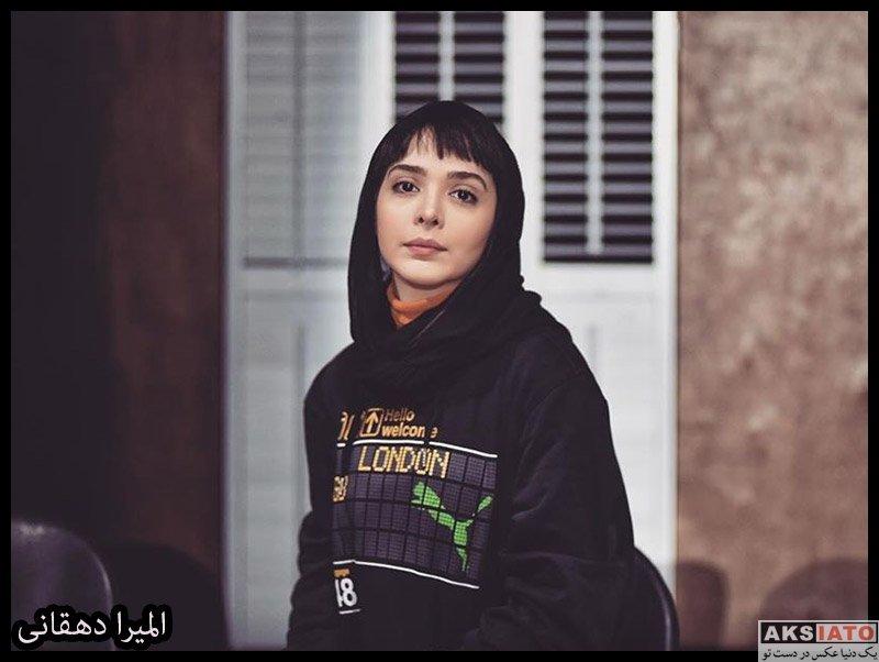 بازیگران بازیگران زن ایرانی  عکس های جدید المیرا دهقانی در دی ماه 98 (8 تصویر)