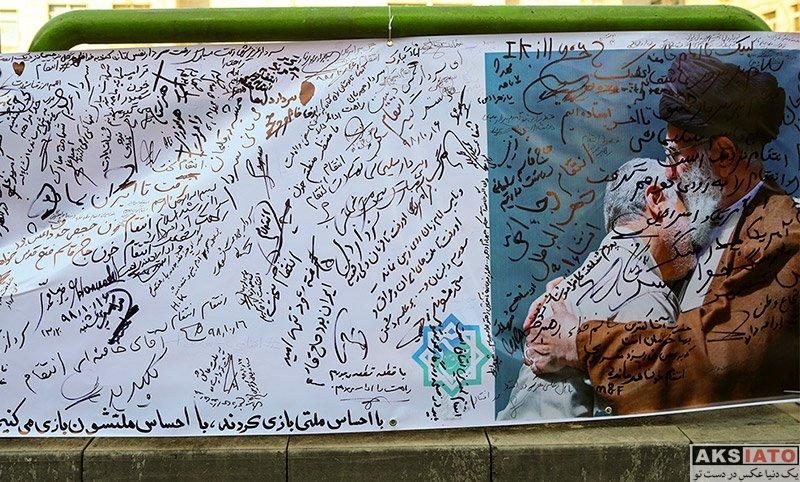 عکس های دیدنی مراسم تشییع پیکر سردار قاسم سلیمانی - عکسیاتو