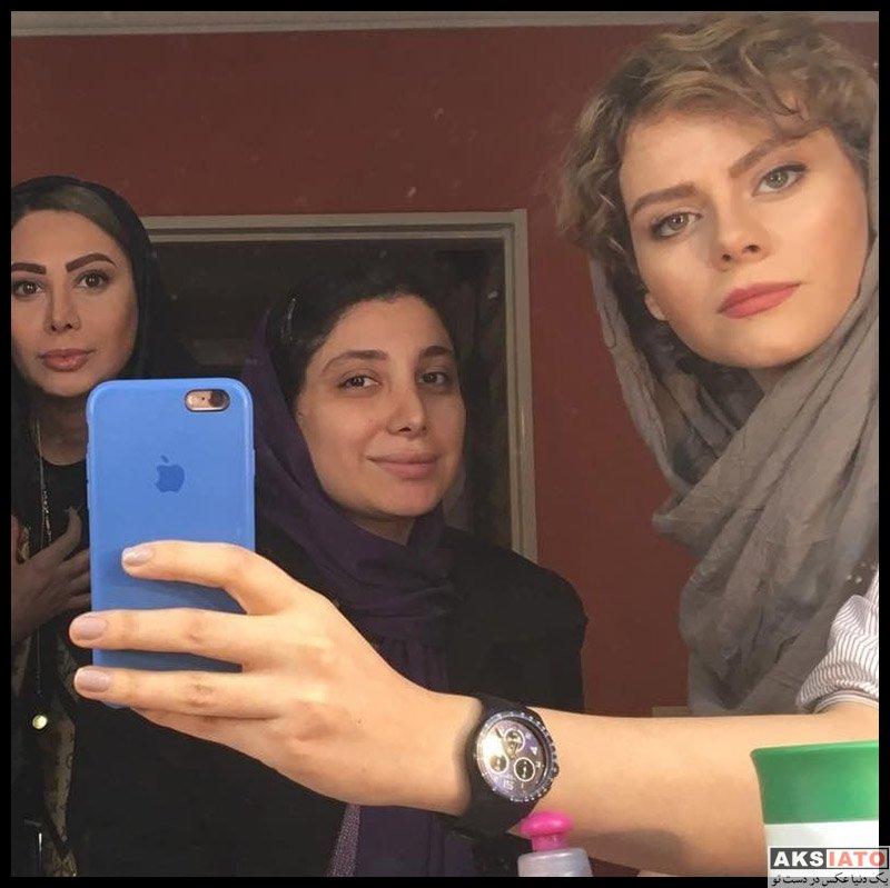 بازیگران بازیگران زن ایرانی  غزال نظر بازیگر نقش باران در سریال ملکاوان (۸ عکس)