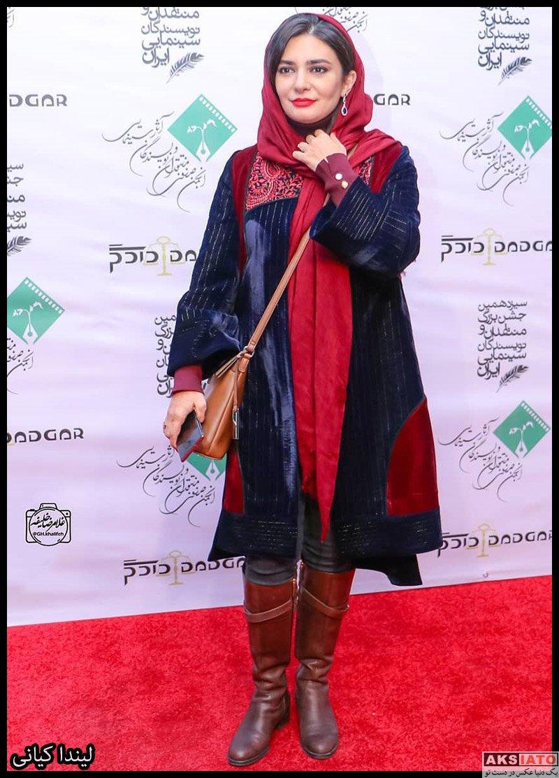 بازیگران جشن منتقدان و نویسندگان  لیندا کیانی در سیزدهمین جشن منتقدان سینما (4 عکس)