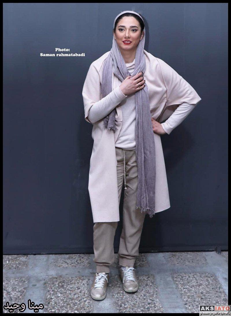 مینا وحید در پشت صحنه نمایش دزدان شماره ۴۳ (۳ عکس) - عکسیاتو