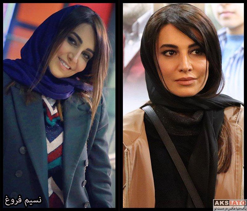 بازیگران بازیگران زن ایرانی  نسیم فروغ بازیگر نقش نیلوفر در سریال از سرنوشت (۸ عکس)