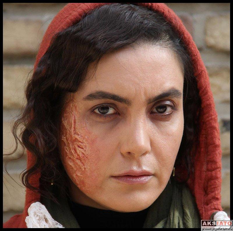 سامیه لک با گریم ترسناک در فیلم ناک اوت (۴ عکس) - عکسیاتو