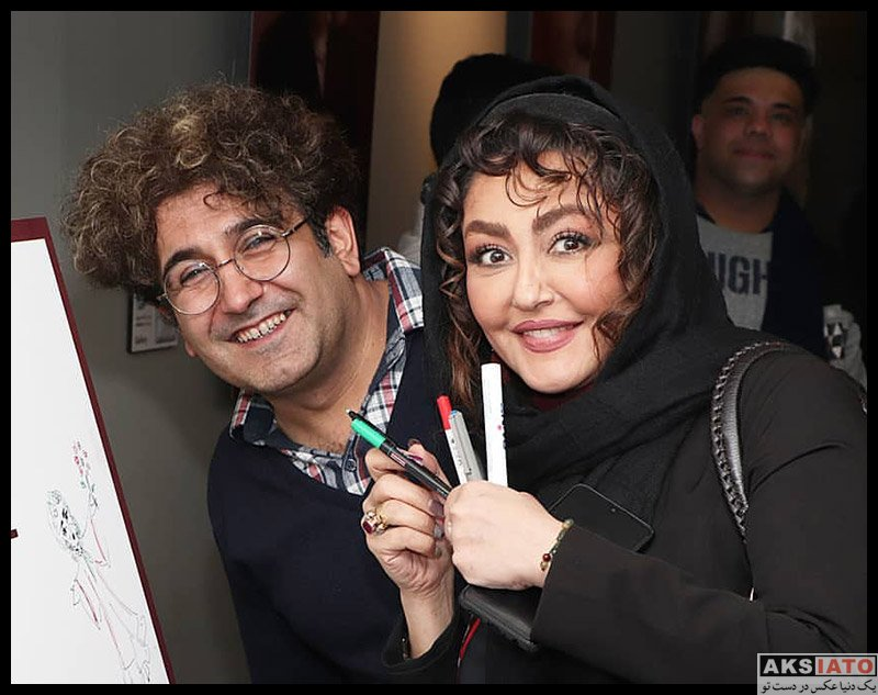 بازیگران بازیگران زن ایرانی  شقایق فراهانی در اجرای نمایش دراکولای سفید (۳ عکس)