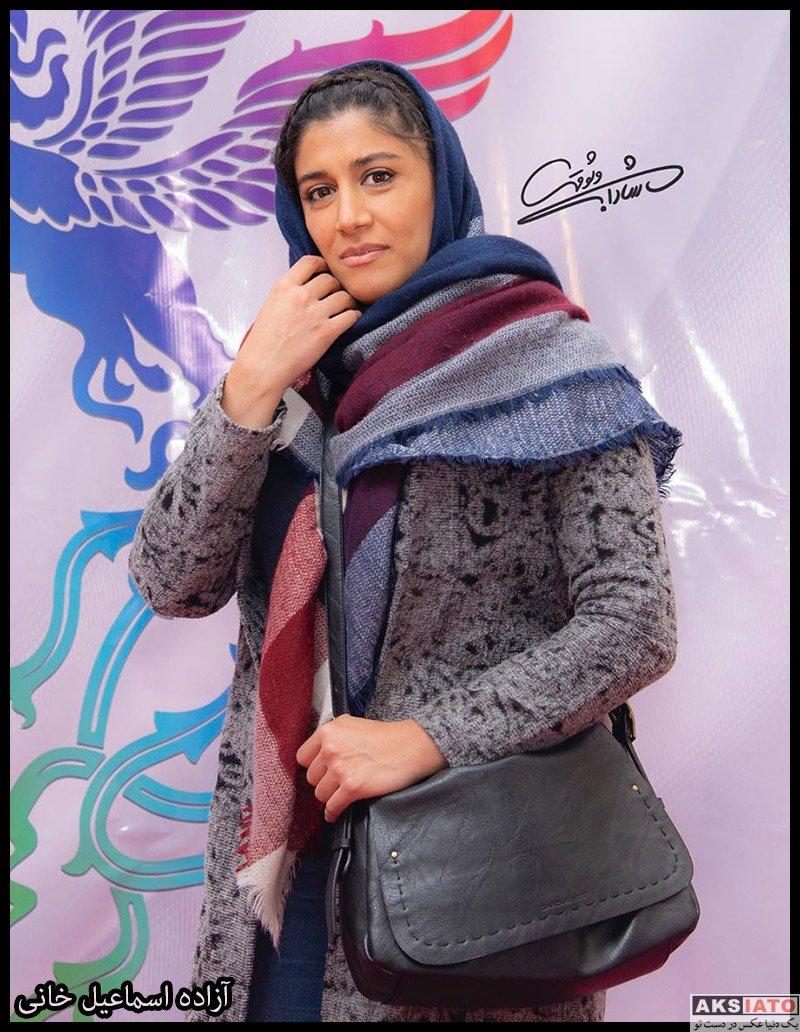 بازیگران جشنواره فیلم فجر  آزاده اسماعیل خانی در سی و هشتمین جشنواره فیلم فجر (2 عکس)