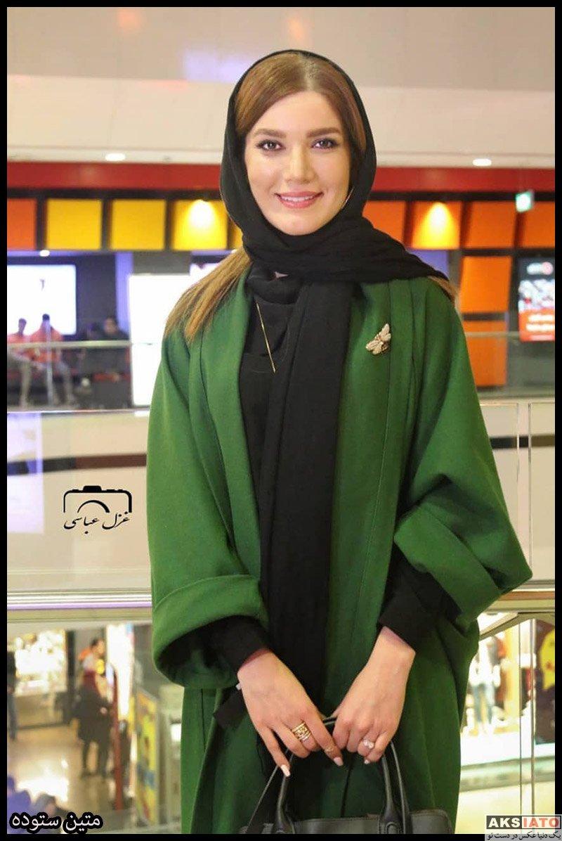 بازیگران جشنواره فیلم فجر  متین ستوده در روز هفتم سی و هشتمین جشنواره فیلم فجر (۴ عکس)