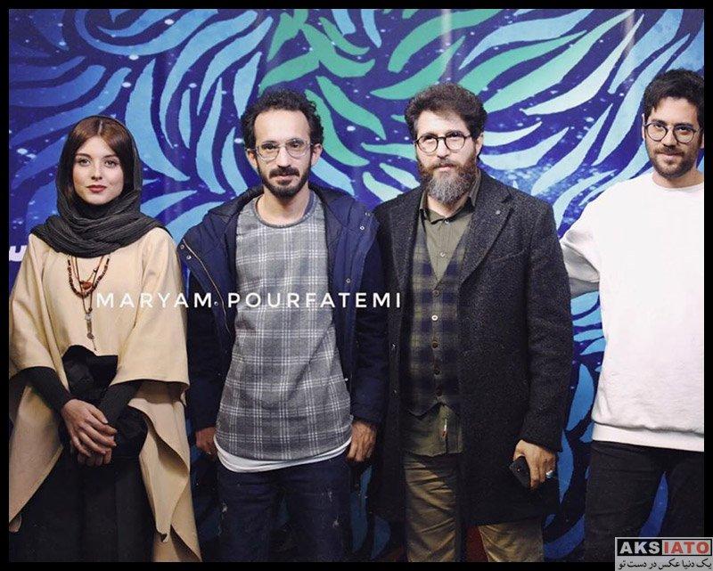 بازیگران جشنواره فیلم فجر  فاطمه مسعودی فر در سی و هشتمین جشنواره فیلم فجر (۳ عکس)