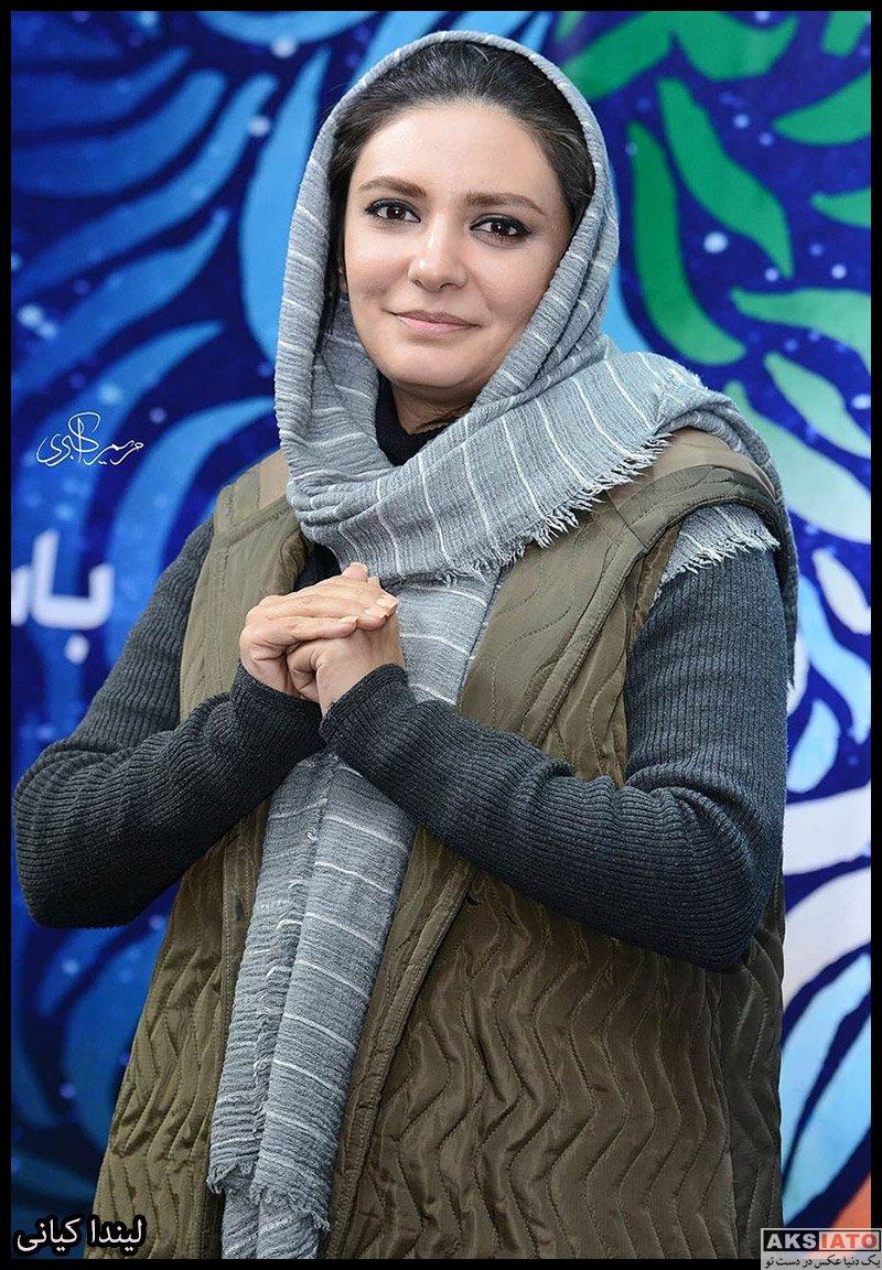 بازیگران جشنواره فیلم فجر  لیندا کیانی در سی و هشتمین جشنواره فیلم فجر (3 عکس)
