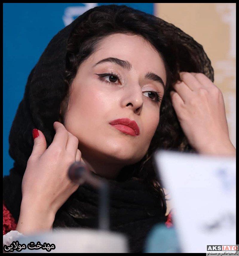بازیگران جشنواره فیلم فجر  مهدخت مولایی در سی و هشتمین جشنواره فیلم فجر (۶ عکس)