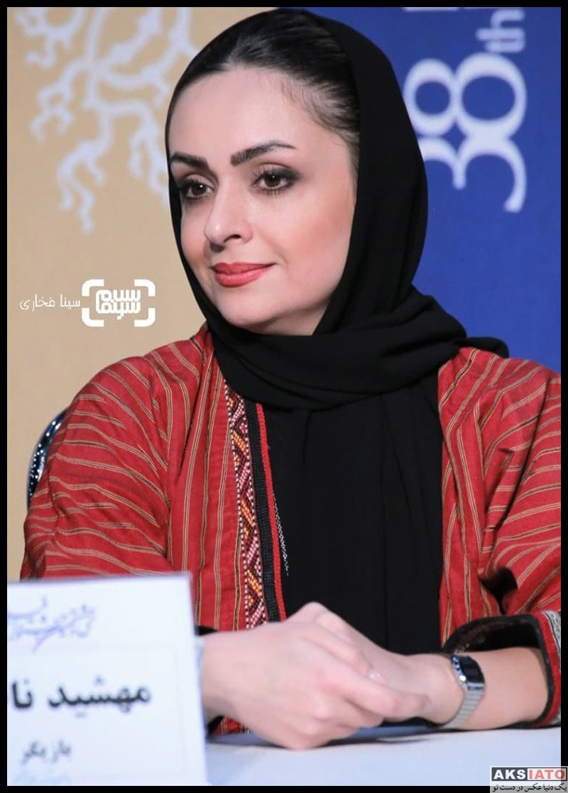 بازیگران جشنواره فیلم فجر  مهشید ناصری در سی و هشتمین جشنواره فیلم فجر (۶ عکس)
