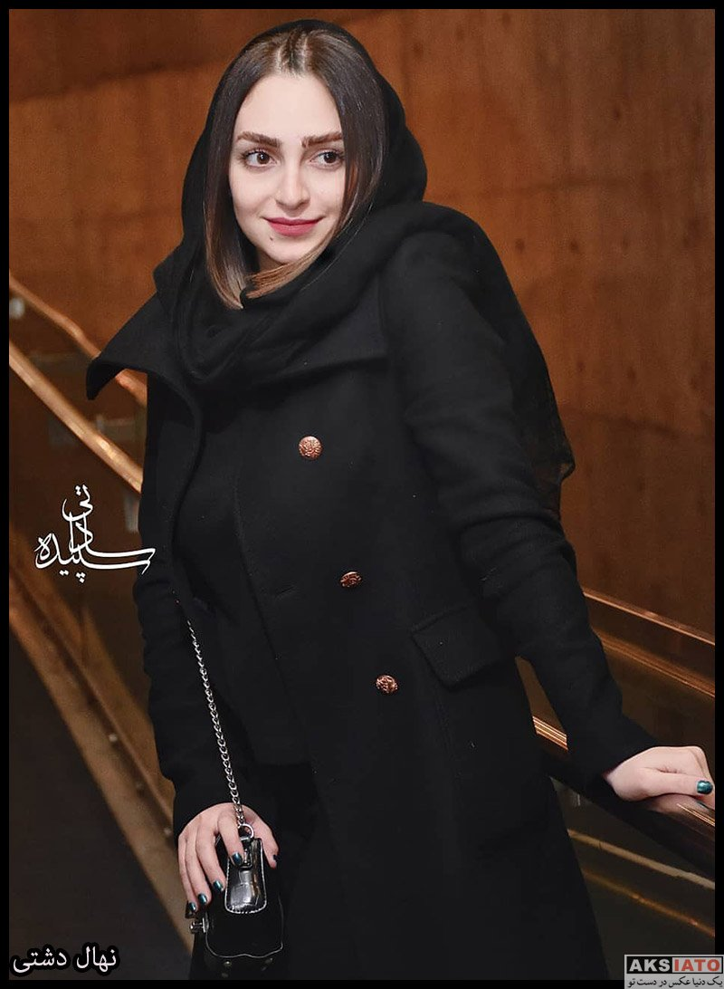 بازیگران جشنواره فیلم فجر  نهال دشتی در سی و هشتمین جشنواره فیلم فجر (3 عکس)