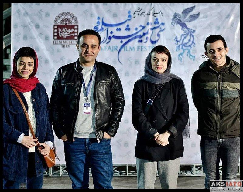 بازیگران جشنواره فیلم فجر  عکس های ندا جبرائیلی در سی و هشتمین جشنواره فیلم فجر