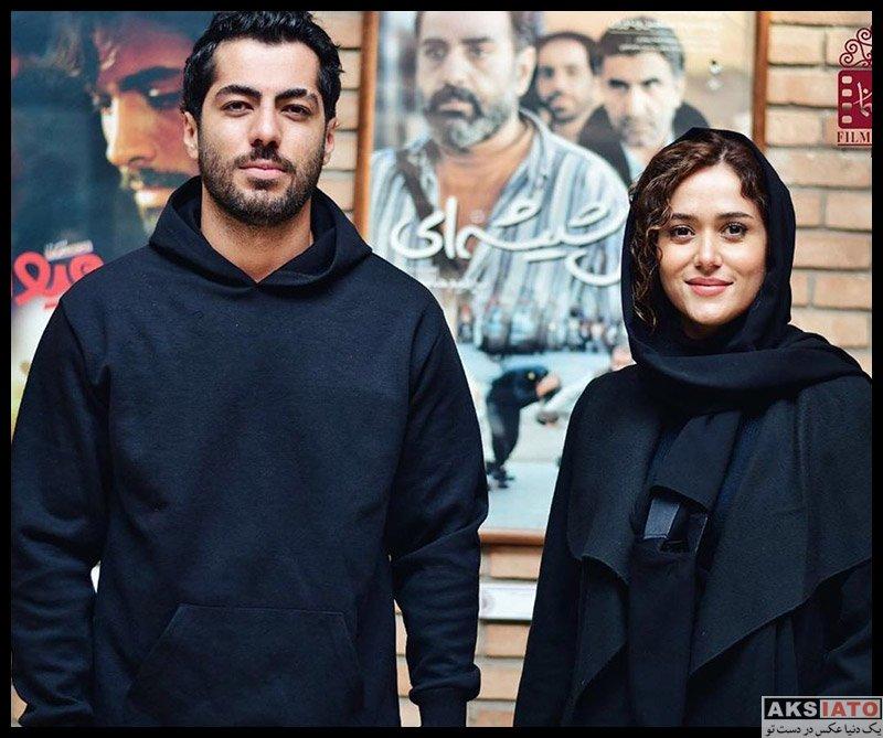 بازیگران جشنواره جهانی فیلم فجر  پری ناز ایزدیار در روز دوم سی و هشتمین جشنواره فیلم فجر (۴ عکس)