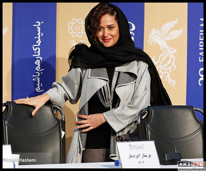 بازیگران جشنواره فیلم فجر  پریناز ایزدیار در روز پنجم سی و هشتمین جشنواره فیلم فجر (6 عکس)