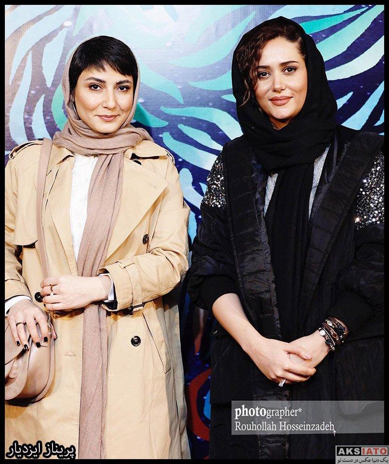 بازیگران جشنواره فیلم فجر  عکس های پریناز ایزدیار در روز ششم سی و هشتمین جشنواره فیلم فجر