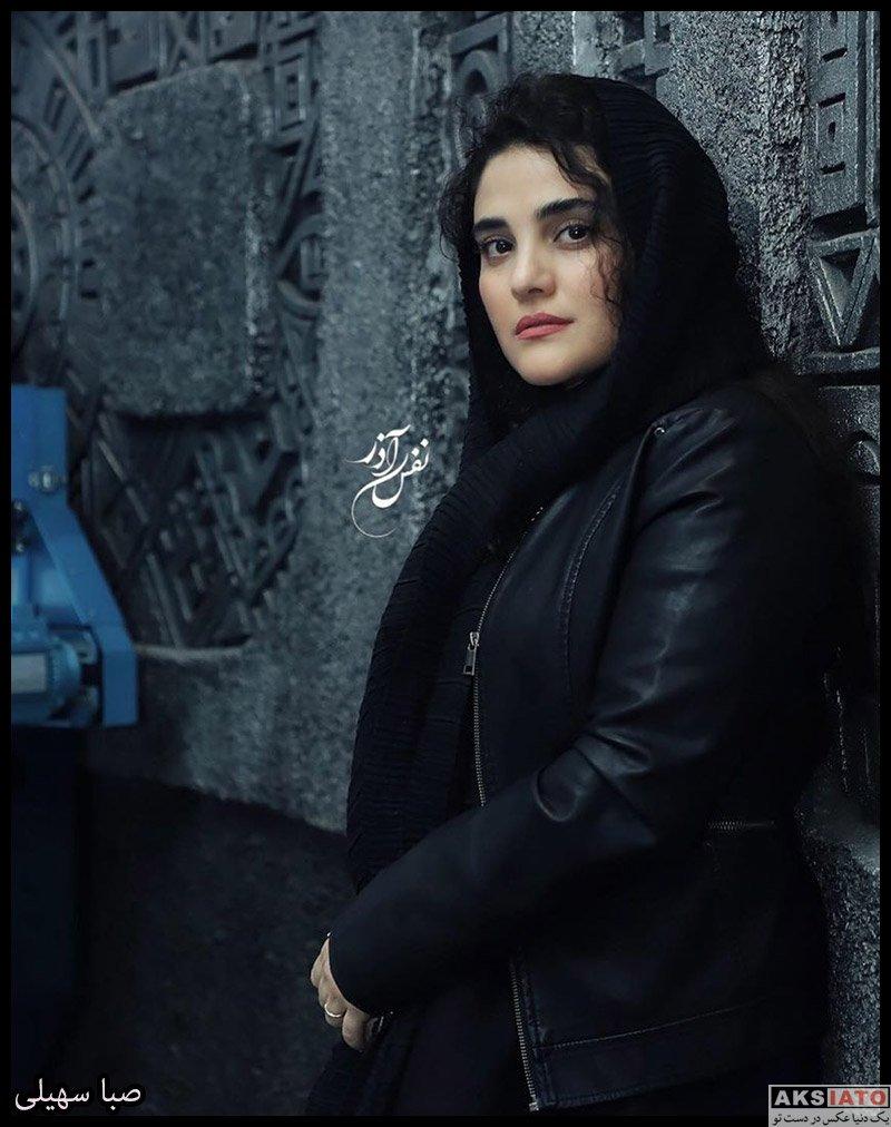 بازیگران جشنواره فیلم فجر  صبا سهیلی در سی و هشتمین جشنواره فیلم فجر (3 عکس)