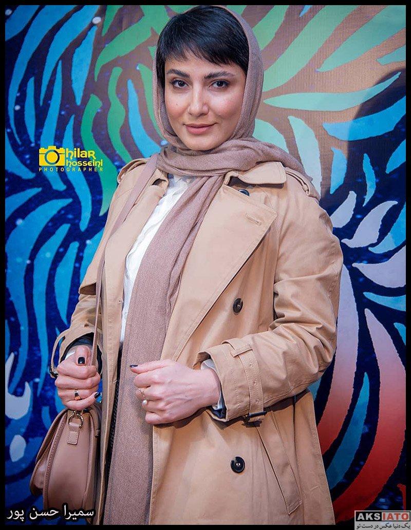 بازیگران جشنواره فیلم فجر  سمیرا حسن پور در روز ششم سی و هشتمین جشنواره فیلم فجر (4 عکس)