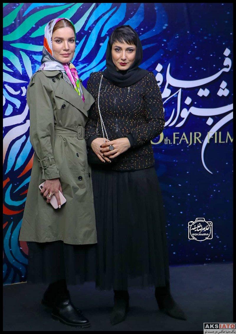 بازیگران جشنواره فیلم فجر  عکس های سمیرا حسن پور در سی و هشتمین جشنواره فیلم فجر
