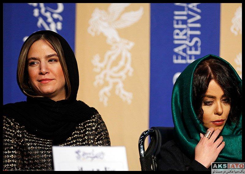 بازیگران جشنواره فیلم فجر  ستاره پسیانی در روز چهارم سی و هشتمین جشنواره فیلم فجر (6 عکس)
